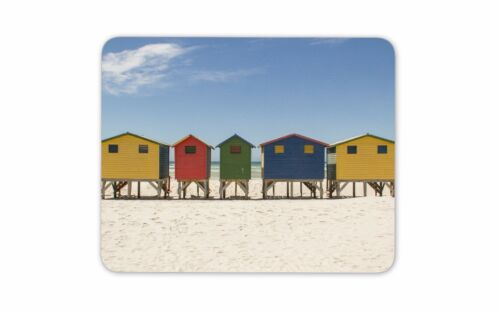 Surfer Beach Huts Mouse Mat Pad Surfing Surf Girls Gift Computer PC Gift #8091