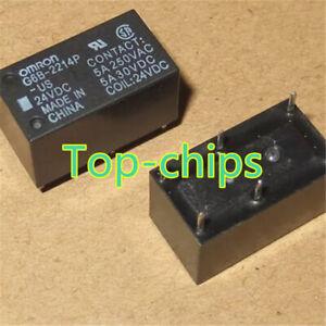10pcs-OMRON-24V-G6B-2214P-US-24VDC-Relay-6Pins-new