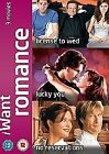 I Want Romance - License To Wed/Lucky You/No Reservations (DVD, 2008, 3-Disc Set, Box Set)