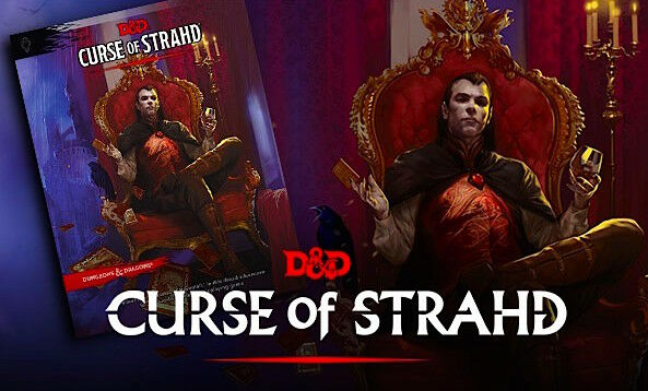 Dungeons and Dragons RPG  Curse of Strahd 6517