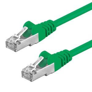 CAT5e-Kabel-SF-UTP-Patchkabel-DSL-LAN-Netzwerkkabel-Gigabit-grun-0-25-m-20-m