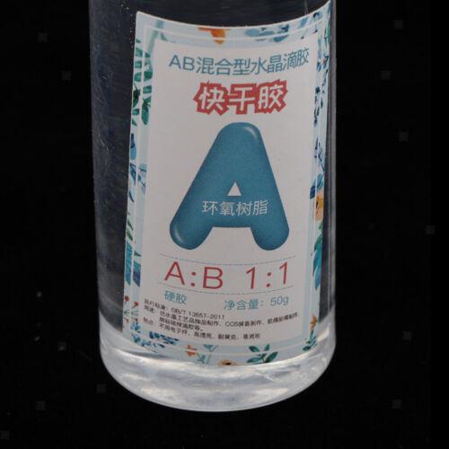 1 \u0026 1 3 4 Flaschen AB Epoxidharzkleber 200g Für Heimwerker 1