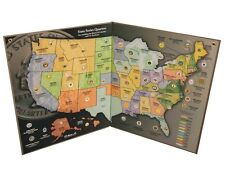 State Quarter Map - Us State Quarter Collection, New, Free Shipping