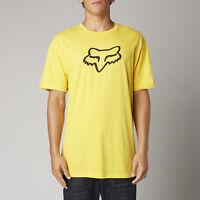Fox Racing Legacy Fox Head S/s Tee Shirt Yellow