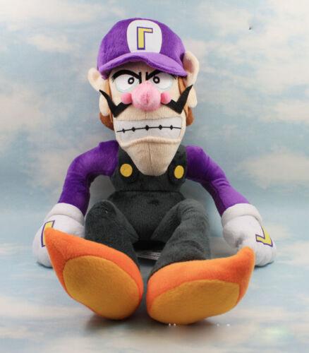 Poupée Waluigi Koopa en peluche 12 pouces Vendeur Francais Super Mario Bros
