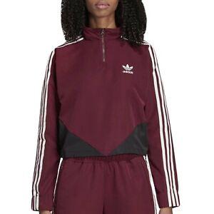 adidas hoodie weinrot damen