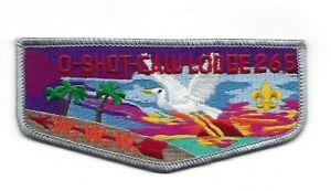 OA O-Shot-Caw Lodge 265 Flap South Florida Council