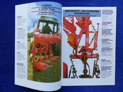 Landsberg Servo 1-4 Pflugtechnik Prospekt Brochure 0471