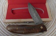 Damast Messer Damastmesser EDELHOLZ 256 LAGEN SCHÖN