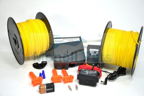 PET SAFE STUBBORN LARGE DOG FENCE ELECTRIC IN-GROUND SYSTEM 1000/' WIRE KIT  For