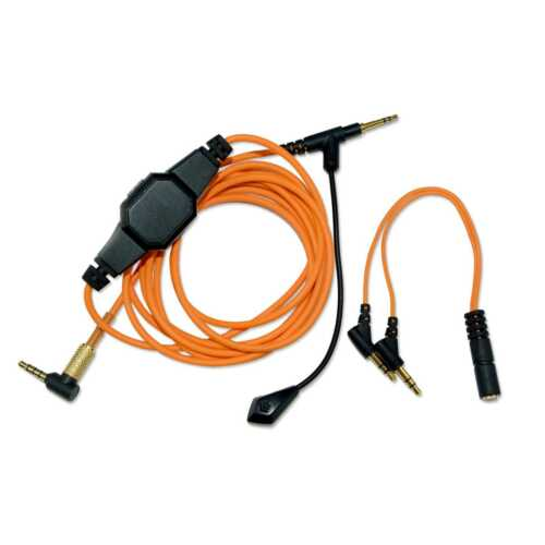 Boom Microphone Volume Cable for QC25 QC35 OE2 OE2i QC25 OE2 for PS4 PC Xbox One