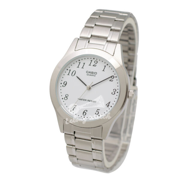 -Casio MTP1128A-7B Men's Metal Fashion Watch Brand New & 100% Authentic