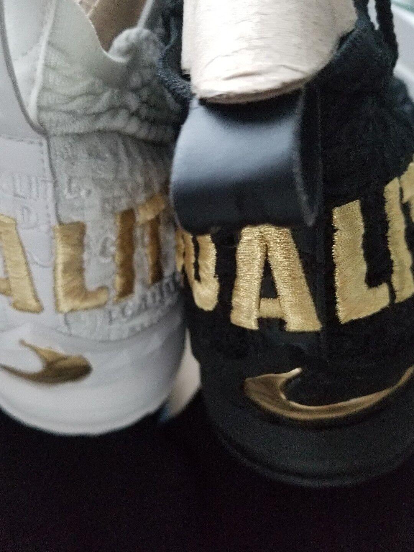 New Nike lebron 15 equality black and white mismatch size 10