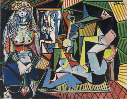 Pablo Picasso Femmes Dalger Giclee Canvas Print Paintings Poster LARGE SIZE