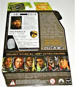 Filecard Rise of Cobra ROC       2009 Air Raid V1 G I JOE File Card I.D
