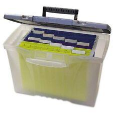 Storex Portable File Box 12 Height X 145 Width X 105 Depth External