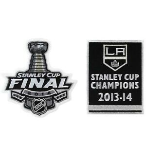 2014-NHL-Stanley-Cup-Final-Champions-Los-Angeles-Kings-Banner-Jersey-Patch-Combo