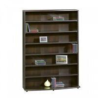 Sauder Multimedia Storage Tower, Cinnamon Cherry, New, Free Shipping on Sale