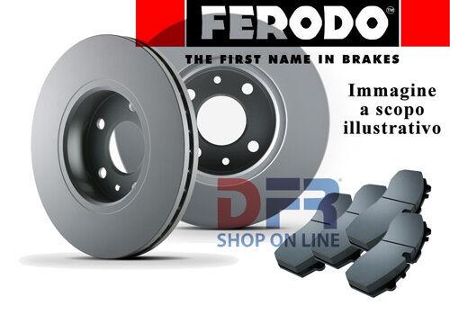 KFF51 PASTIGLIE DISCHI FRENO FERODO BMW 320D E46 100KW 136CV DA 04//98/>02//05