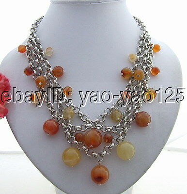 Charming! 8MM-16MM Carnelian Necklace