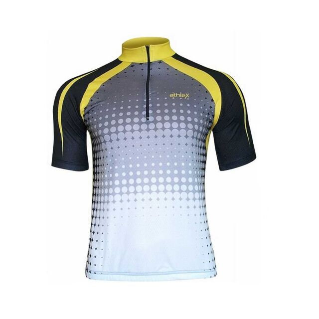 Athlex Funktions Radtrikot - Radshirt - Fahrradtrikot - atmungsaktiv Gr. XXL