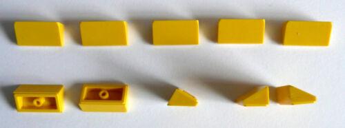 10 x LEGO® 85984 SystemsteSchrägstein//Dachstein 30° in 1 x 2 x 2//3 gelb Neuware.