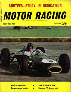 Motor-Racing-12-1964-Mexican-GP-Austin-1800-Normand-Cooper-Cosworth-John-Surtees
