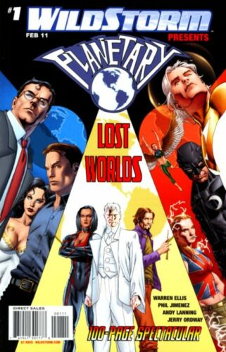 Planetary Lost Worlds #1 Comic Book Wildstorm Presents