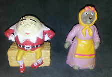 Humpty Dumpty & Wolf As Grandmother Fairy Tale Story Funrise 1988 Figurine Toys