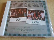Asia, Boston - Winning Combinations (2001)  CD  NEW/SEALED  SPEEDYPOST
