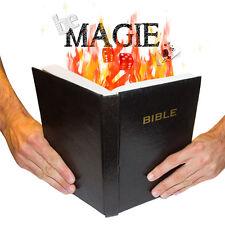 Livre en feu - Hot book - Tour de Magie