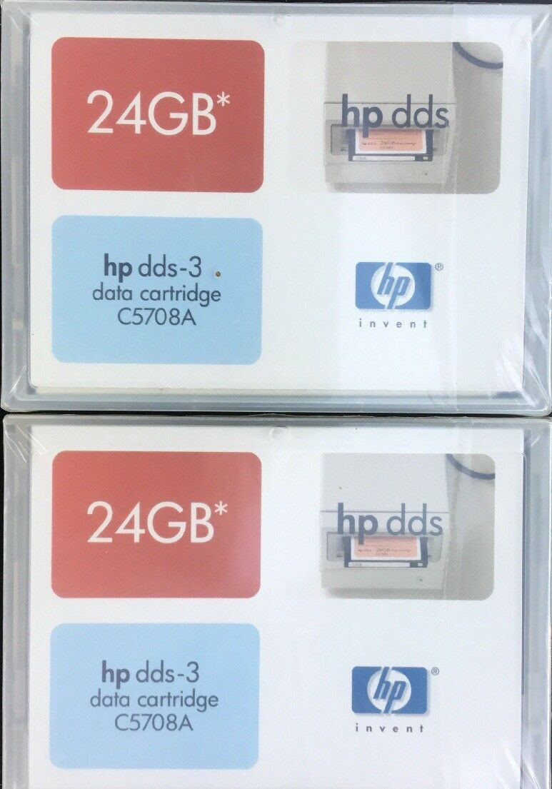 Computer, Tablets & Netzwerk Daten Patrone Hp C5708a 24gb Dds3 Daten Patrone