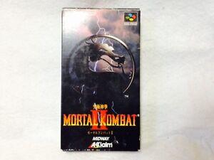 Complete-Mortal-Combat-2-Super-Famicom-SNES-Nintendo-Japan-Video-Game