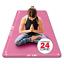miniatura 1 - Tappetino Yoga Tappeto Palestra Fitness Aerobica Pilates Materassino Ginnastica