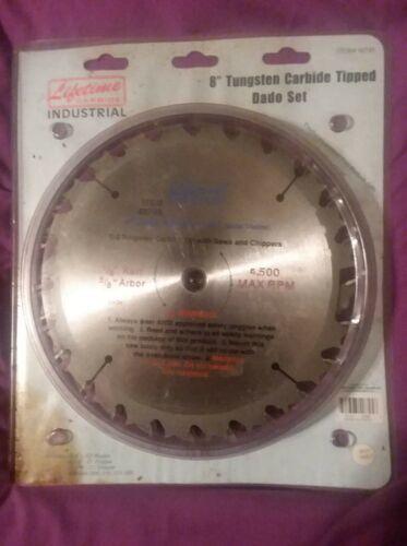 8 Inch Tungsten Carbide Tipped Dado Set