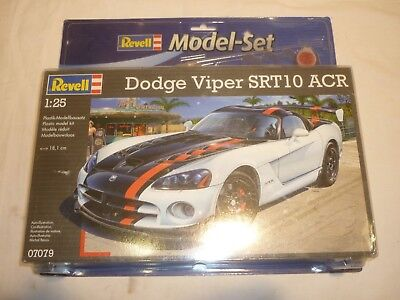 Revell 07079 Dodge Viper SRT10 ACR Plastic Kit 1//25th Scale Tracked 48 Post
