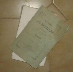 SCHILLER-Melanges-Precedes-du-Visionnaire-Trad-Ad-Regnier-Hachette-1861