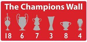 Liverpool-FC-la-Champions-Muro-Adesivo-Vinile-Decalcomania-trofei-2019