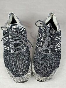 New-Balance-Fresh-Foam-Cruz-V2-Sockfit-Running-Shoes-Mens-Grey-Black-Size-11