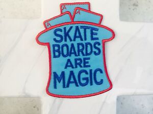 Skate-Street-Wear-Magazine-Board-Gear-Iron-On-Patches-Patch