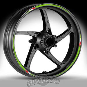 Adesivi-ruote-moto-per-KAWASAKI-Z750-strisce-RACING-7-cerchi-stickers-Z-750