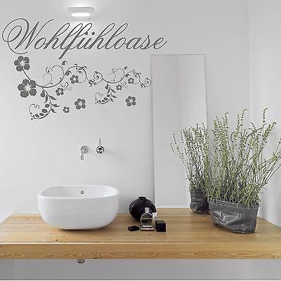 Wellness Wandtattoo Aufkleber Bad Badezimmer Spruch Wanddeko tx080