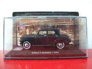 simca-9-aronde-1954-1-43-Neuf-altaya-IXO