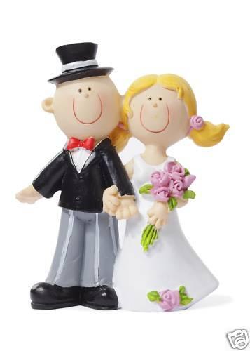 Dekofigur  Tortendeko *Hochzeitspaar I* 3870001 NEU