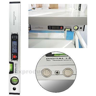 0~360° Upright Display Angle Finder Digital Inclinometer w/ Magnet Spirit Level