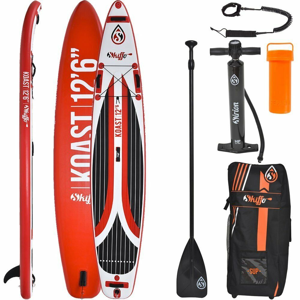 Skiffo Touring Sup Stand up Paddle Surf-Board Inflatable Paddle Isup 381