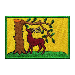 Berkshire County Flag Patch Iron On Patch Sew On Embroidered Patch