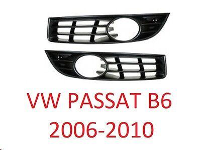 VW PASSAT 3C B6 06-10 Stoßstange Grill Gitter Lüftungsgitter Blende SET TOP NEU