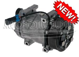 Image is loading A-C-Compressor-w-Clutch-for-Sanden-4417-4485-