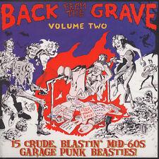 BACK FROM THE GRAVE VOLUME 2 CRYPT RECORDS LP VINYLE NEUF NEW VINYL GATEFOLD